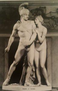 Луиджи Аквисти. Марс и Венера. 1805-1806. Вилла Карлотта в Тремеццо