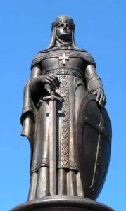 Фото. Клыков. Памятник Святой княгине Ольге. Псков. 2003