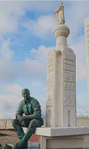 Фото. А.В.Клыков. Памятник В.Клыкову. Курск. 2007