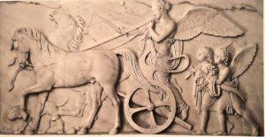 Торвальдсен. Немезида. 1836. Ловено (Италия). Вилла Вигони. Храм
