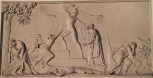 Канова. Смерть Приама. 1787-1790 (Канове примерно 30 лет). Гипс. Гипсотека в Поссаньо
