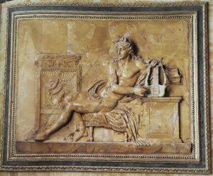 В.Пачетти. Аполлон. Зал «Елены и Париса» № 19 галереи Боргезе. 1783-1784. Желтый сиенский мрамор