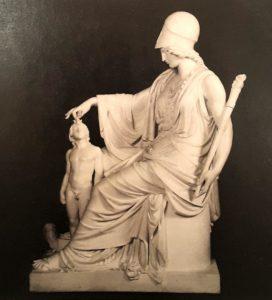 Камилло Пачетти. Минерва наполняет душу созданного Прометеем человека. 1806. Милан. Галерея современного искусства