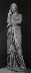 Pudicitia (Застенчивость, скромность, целомудрие). Музеи Ватикана