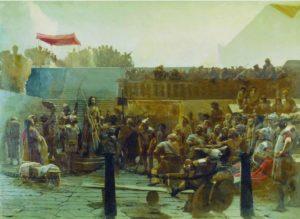 И.Н.Крамской. Хохот (Радуйся, царь иудейский)