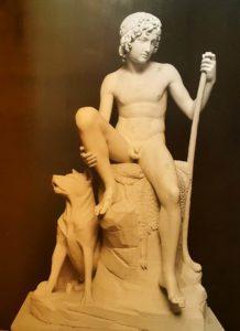 Торвальдсен. Пастушок. Мрамор. 1822-1825 (по модели 1816). Копенгаген. Музей Торвальдсена