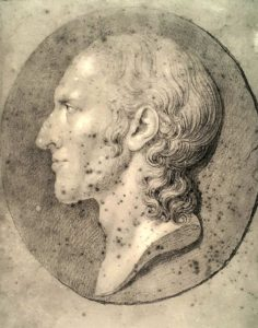 Торвальдсен. Бюст Йоргена Соэги. 1808. Копенгаген. Музей Торвальдсена