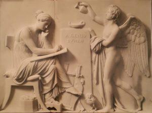 Торвальдсен. A Genio Lumen (От Гения Свет). 1818-1828 (по модели 1808). Копенгаген. Музей Торвальдсена