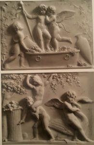 Торвальдсен. Лето. Сбор урожая. По моделям 1809. Музей Торвальдсена
