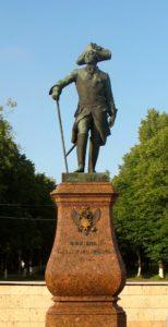 Витали. Памятник Павлу I. 1851. Гатчина