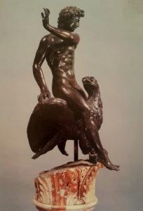 Челлини. Ганимед с орлом. Флоренция. Национальный музей Барджелло