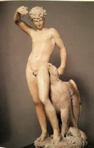 Бенвенуто Челлини (1500-1571). Ганимед с орлом. Флоренция. Национальный музей Барджелло