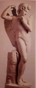 М.И.Козловский (годы жизни 1753-1802). Амур со стрелой. 1797. Есть в Русском музее, есть и в Третьяковской галерее