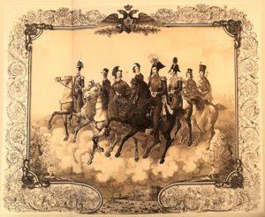 Литография А.Радцига с оригинала П.Хесса. 1842