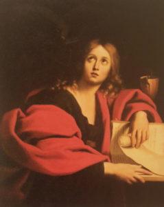 Доменикино (Доменико Цампьери). Святой Иоанн (Евангелист Иоанн). 1630-ые. Холст, масло, Государственный Эрмитаж