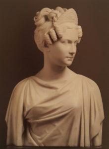 Портрет Александры Федоровны. Портрет сделан по образцам портретов Х.Д.Рауха