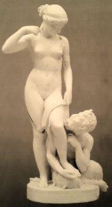 Ставассер. Сатир и нимфа. По модели 1845 года. Мрамор. Государственная Третьяковская галерея