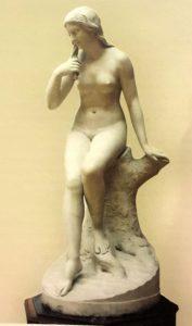 Ставассер. Русалка. 1845. Мрамор. Государственный Русский музей. Санкт-Петербург.