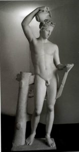 Пракситель. Сатир, наливающий вино. Палермо. Национальный археологический музей