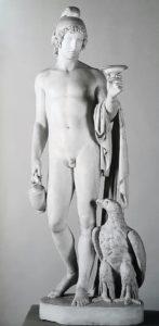 Торвальдсен. Ганимед стоящий с орлом Юпитера. 1804. Национальный музей в Познани