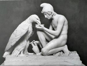 Торвальдсен. Ганимед поит орла. Мрамор. 1817 (модель). Музей Торвальдсена. Копенгаген