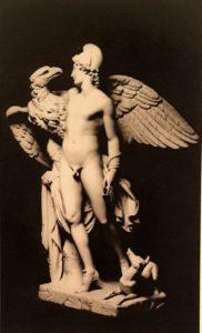 Фиг. 4. Адамо Тадолини (годы жизни 1788-1868). «Ганимед и орел Зевса». 1824-1825