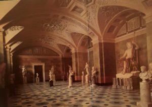 Зал античной скульптуры в Новом Эрмитаже. Или Зал Юпитера. Современный вид