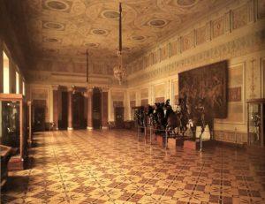 Рыцарский зал в Новом Эрмитаже. Построен Василием Стасовым и Николаем Ефимовым. 1842-1851