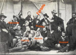На фото указаны персонажи, упоминаемые в цикле статей о римских пенсионерах