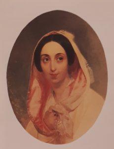Брюллов. Портрет княгини А.А.Багратион. 1849