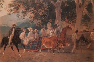 Брюллов. Прогулка. 1849