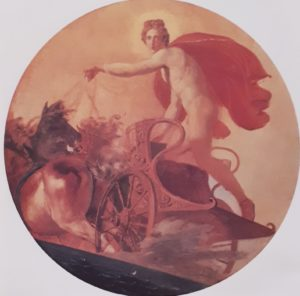 Брюллов. Феб на колеснице. Эскиз. 1852. Русский музей. Петербург. Феб и Аполлон – один и тот же персонаж