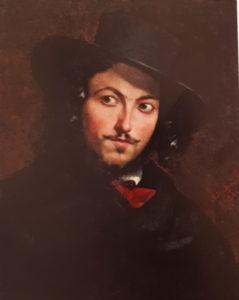 Мокрицкий. Итальянец. 1848. Холст. Масло. Третьяковская галерея