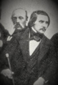 Фотография Гоголя. Часть указанной выше фотографии. Есть еще одно объективное воспроизведение лица Гоголя, это его посмертная маска, а снимал ее Н.А.Рамазанов