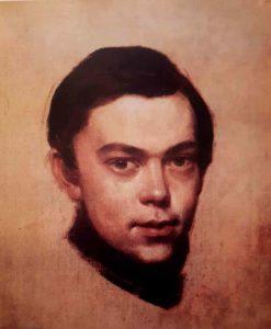 Штернберг. Автопортрет. 1838-1840