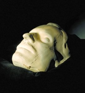 Посмертная маска Гоголя, снятая Рамазановым в 1852