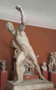 Агасий. Гладиатор (или Боргезский боец). Около 100 г. до н.э.