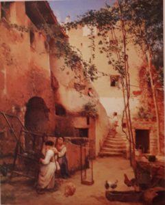 А.И.Иванов (голубой). Сорренто. 1856. Русский музей. Петербург