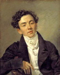 К.П.Брюллов. Портрет Александра Николаевича Рамазанова. 1821
