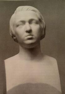 Рамазанов. Портрет В.А.Панова. Начало 1850-ых. Мрамор. Третьяковская галерея. Панов – писатель славянофил.