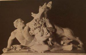 Рамазанов. Милон Кротонский. 1838. Гипс. Русский музей. Санкт-Петербург