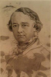 К.П.Брюллов. Портрет Н.А.Рамазанова (скульптора). 1837-1840. Карандаш