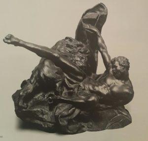 Фальконе. Милон Кротонский. 1755