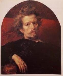 Брюллов. Автопортрет. 1848. Третьяковская галерея