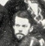 Фотография В.И.Штернебрга. 18454. Рим (вырезана все из той же групповой фотографии подобно тому, как это делают с фото Гоголя))