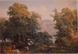 Давыдов И.Г. Предместье Рима.1856. Третьяковская галерея
