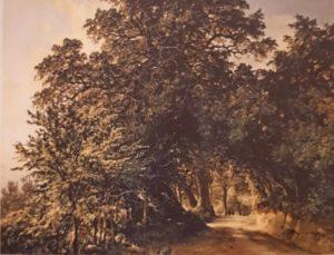 М.И.Лебедев. Аллея в Альбано близ Рима. 1837. Третьяковская галерея. Москва