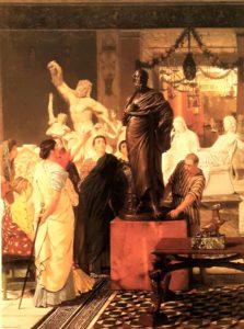 Альма-Тадема. Торговец статуями. 1867. Частная коллекция