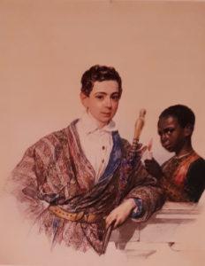 Художники: К.П. Брюллов. Портрет А.Н.Демидова. 1829