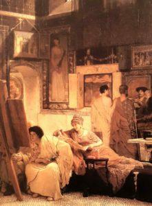 Альма-Тадема. Картинная галерея. 1866. Лондон
